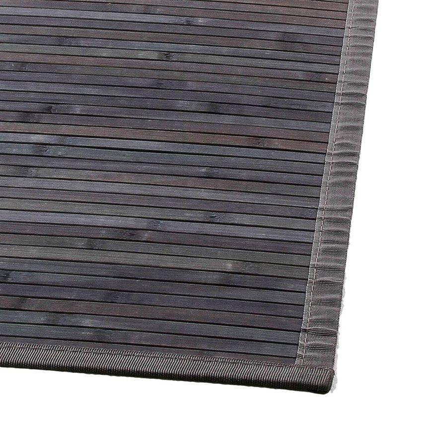 tapis lattes 170 cm bambou anthracite tapis bambou eminza. Black Bedroom Furniture Sets. Home Design Ideas