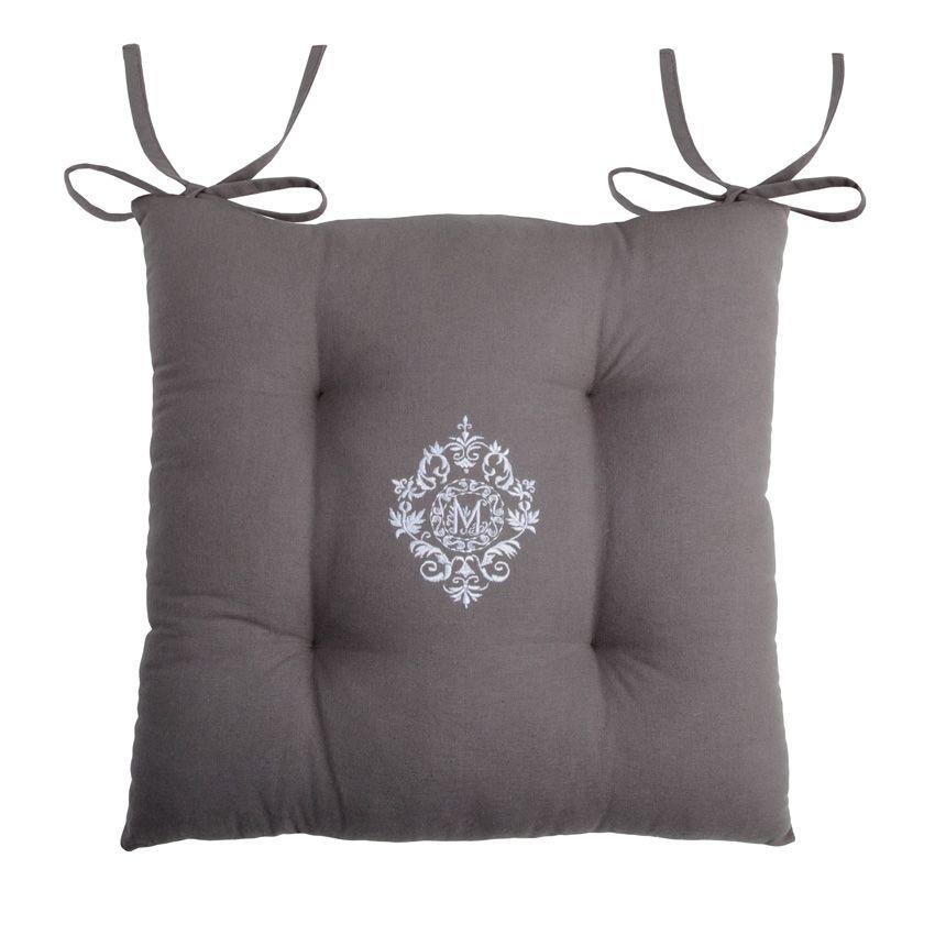 coussin de chaise meline galette et coussin de chaise eminza. Black Bedroom Furniture Sets. Home Design Ideas