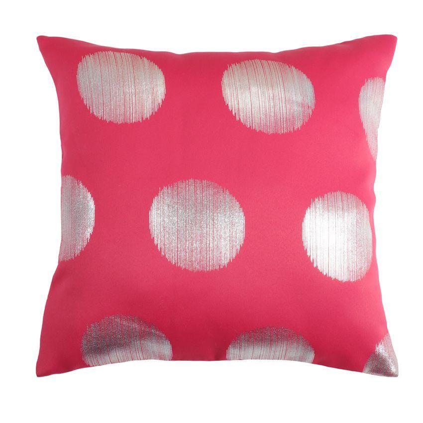 coussin bigger rose coussin et housse de coussin eminza. Black Bedroom Furniture Sets. Home Design Ideas