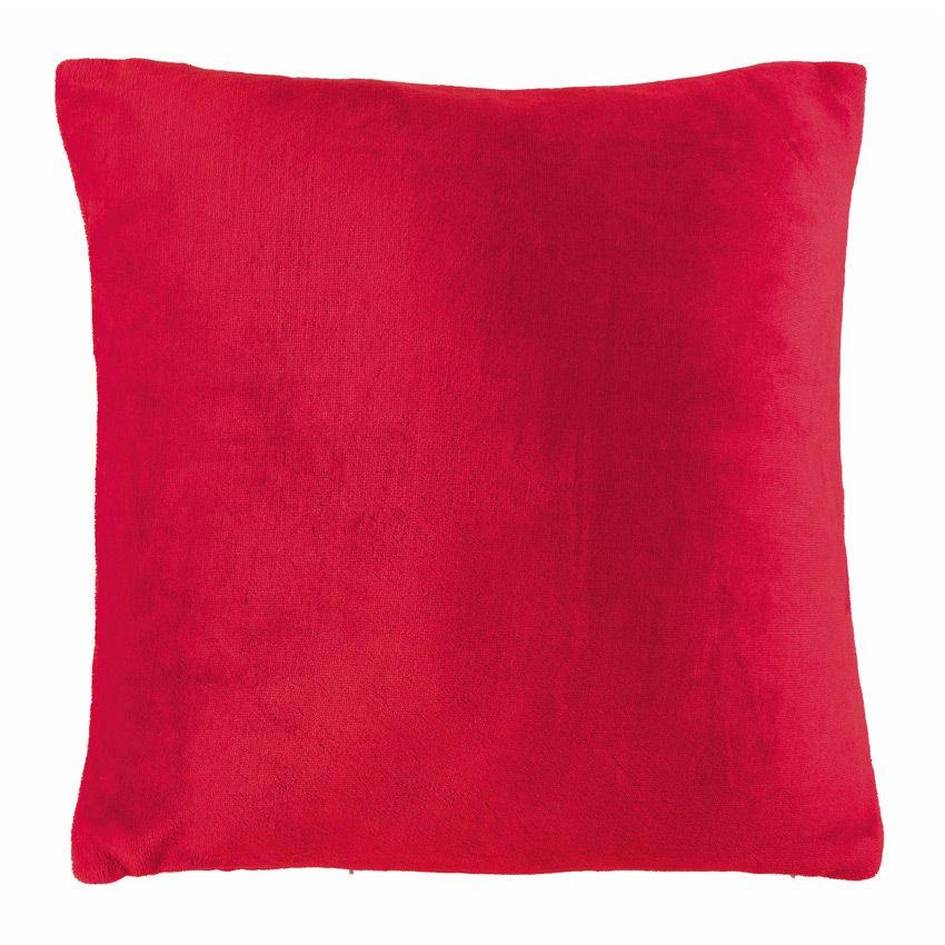 Housse de coussin dotti rouge coussin et housse de for Housse coussin rouge
