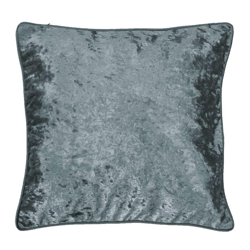 housse de coussin velours glacier coussin eminza. Black Bedroom Furniture Sets. Home Design Ideas