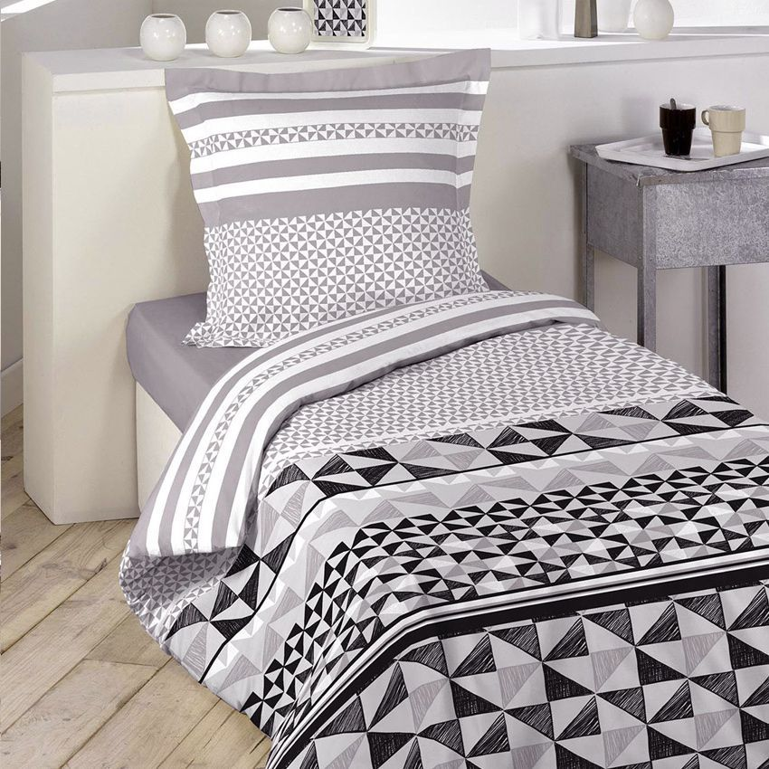 housse de couette et une taie 140 cm ariel housse de. Black Bedroom Furniture Sets. Home Design Ideas