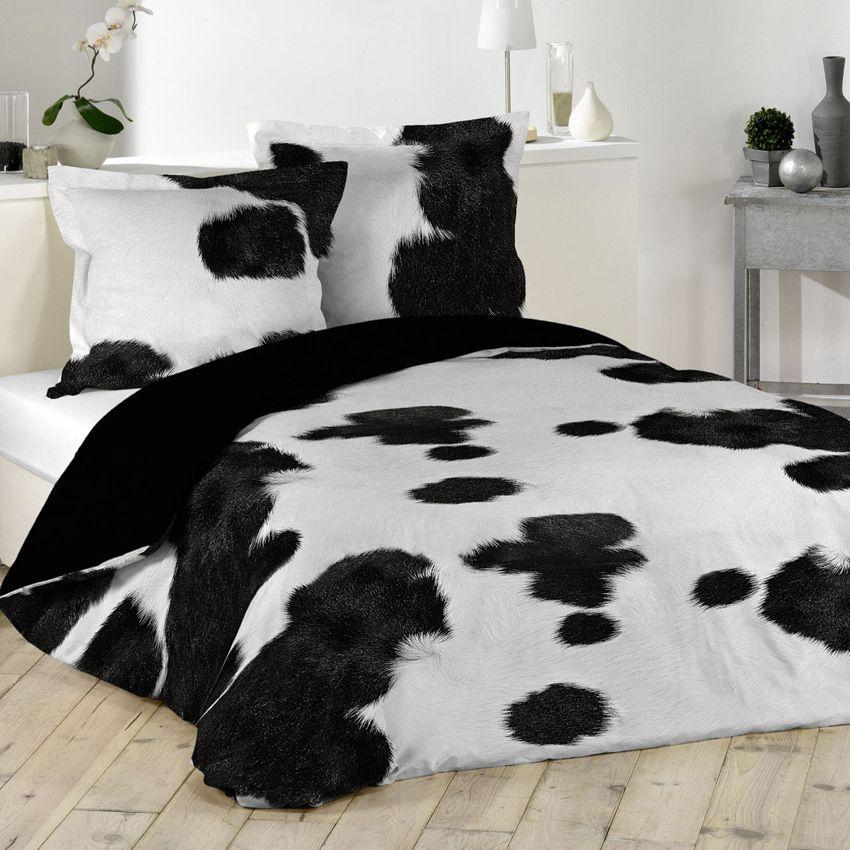 housse de couette et deux taies 260 cm western housse. Black Bedroom Furniture Sets. Home Design Ideas