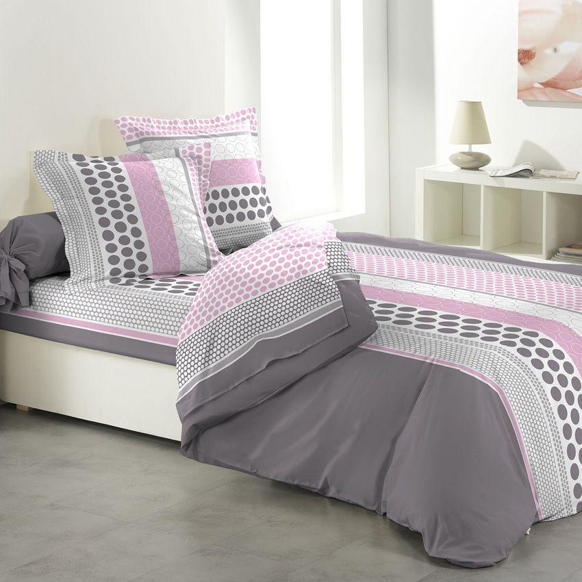 parure de draps 4 pi ces popsy parure de draps eminza. Black Bedroom Furniture Sets. Home Design Ideas