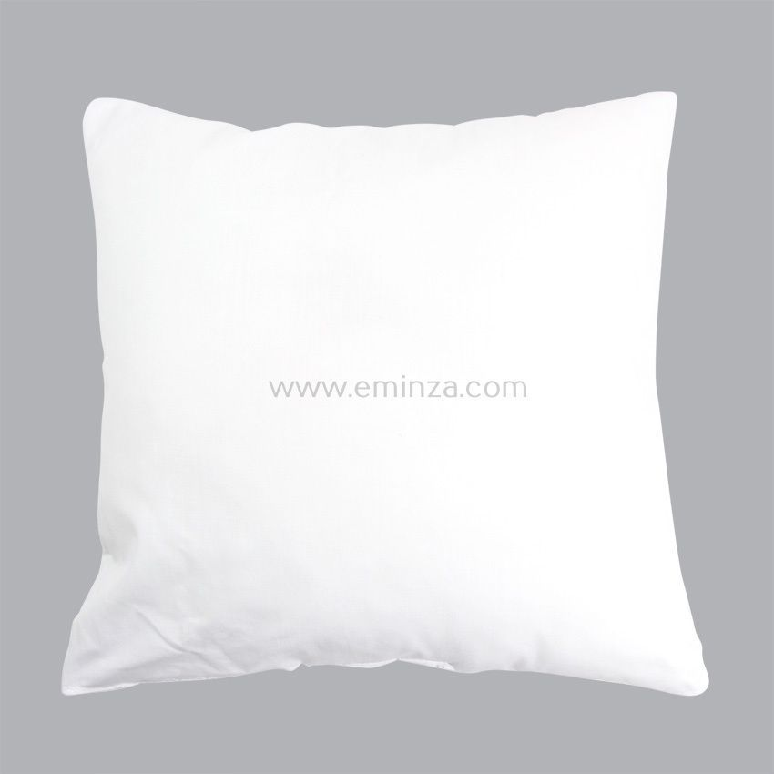coussin de garnissage blanc l40 cm coussin et housse de coussin eminza. Black Bedroom Furniture Sets. Home Design Ideas