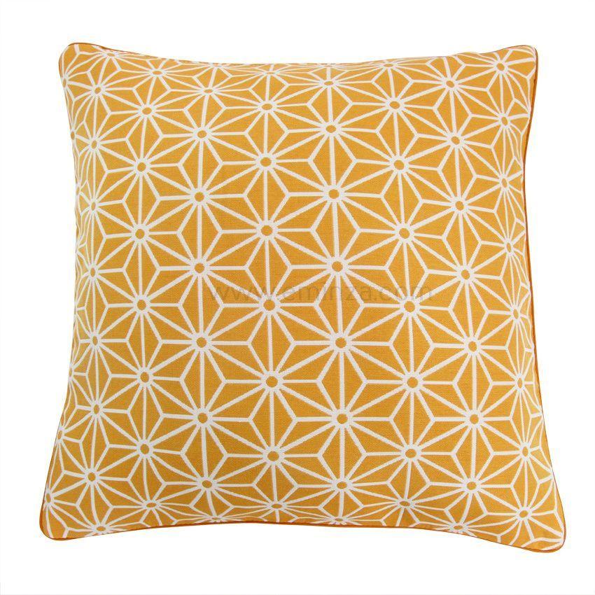 housse de coussin cristal orange coussin et housse de. Black Bedroom Furniture Sets. Home Design Ideas