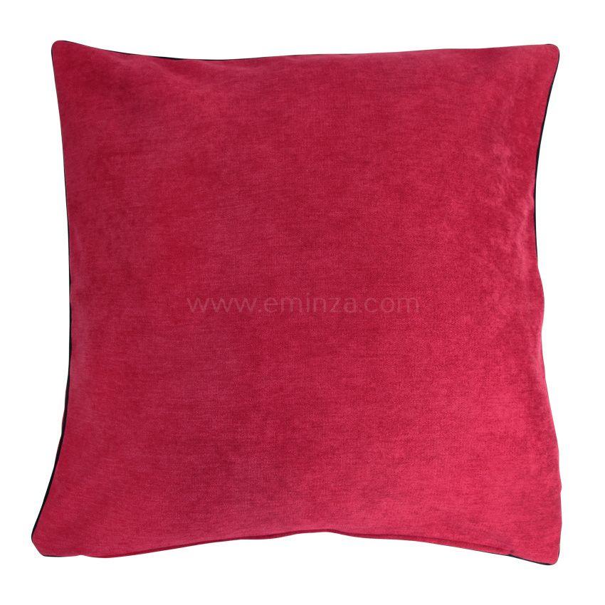 Housse de coussin alaska rouge coussin et housse de for Housse coussin rouge