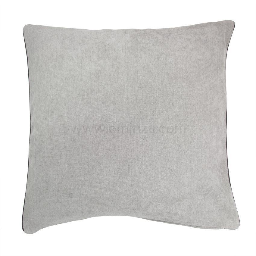 housse de coussin alaska gris clair housse de coussin eminza. Black Bedroom Furniture Sets. Home Design Ideas