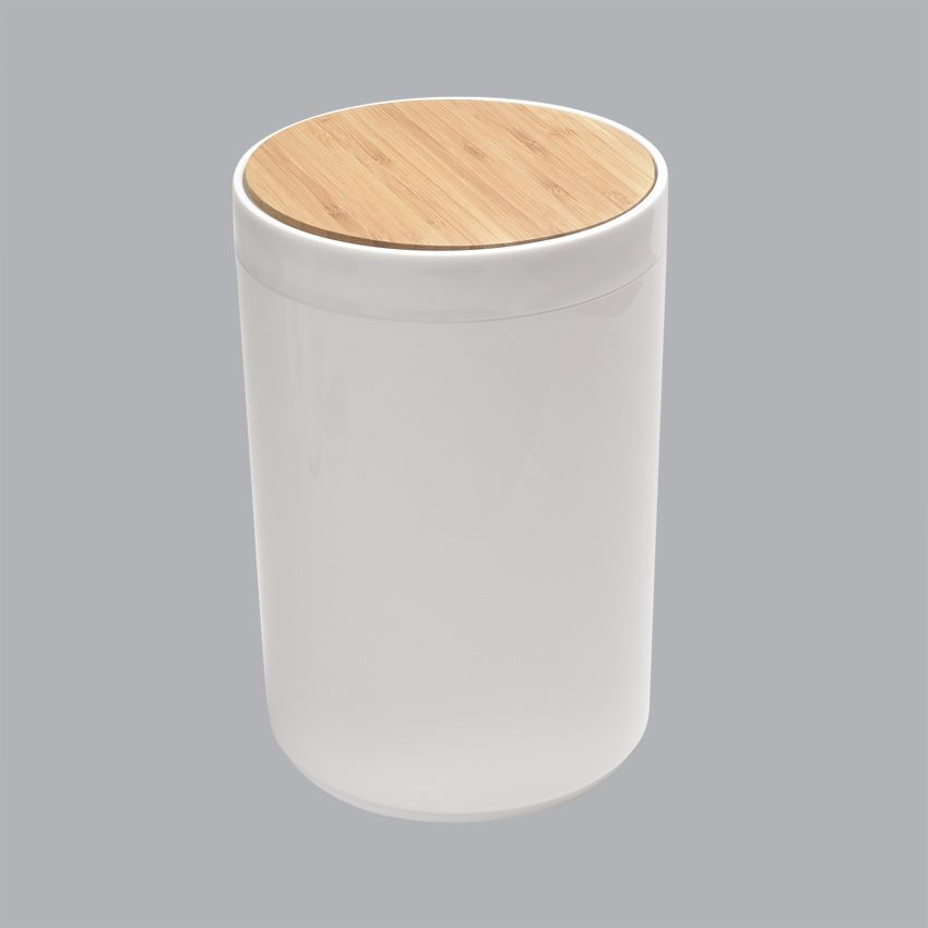 Poubelle bambou pr cieux poubelle eminza for Poubelle de salle de bain bambou