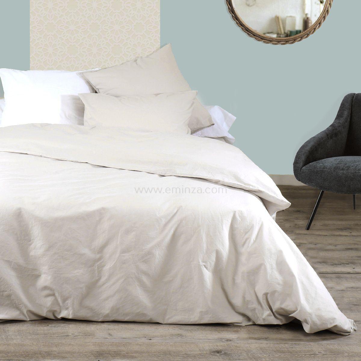 taie de traversin coton teint lav royaume lin taie d 39 oreiller traversin eminza. Black Bedroom Furniture Sets. Home Design Ideas