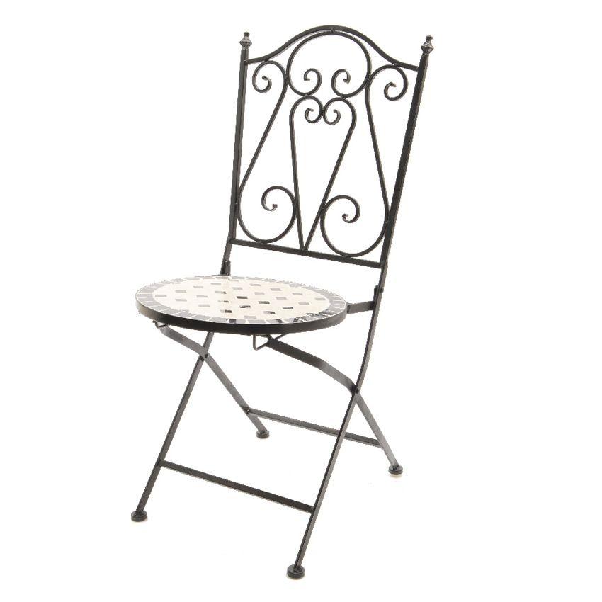 Chaise de jardin da la style fer forg chaise et - Chaise de jardin fer forge ...