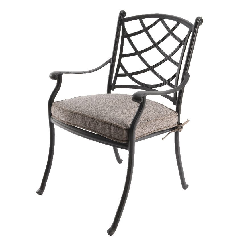 fauteuil de jardin style fer forg saint tropez. Black Bedroom Furniture Sets. Home Design Ideas