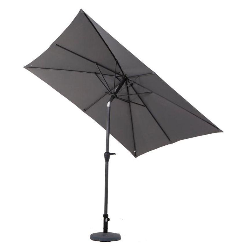 parasol inclinable carr fidji 2 50 x 2 50 m ardoise parasol voile et paravent eminza. Black Bedroom Furniture Sets. Home Design Ideas
