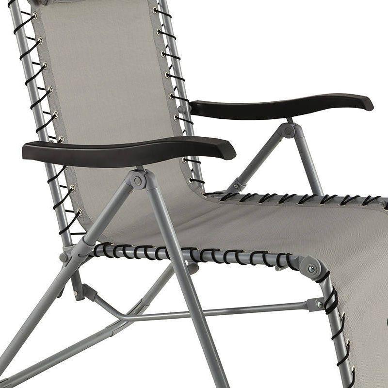 fauteuil d tente silos gris fauteuil d tente eminza. Black Bedroom Furniture Sets. Home Design Ideas