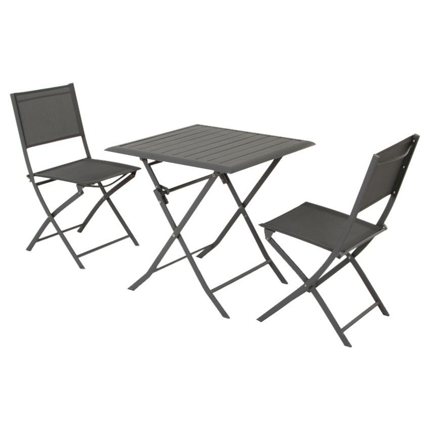 table de jardin pliante aluminium azua 71 x 71 cm. Black Bedroom Furniture Sets. Home Design Ideas