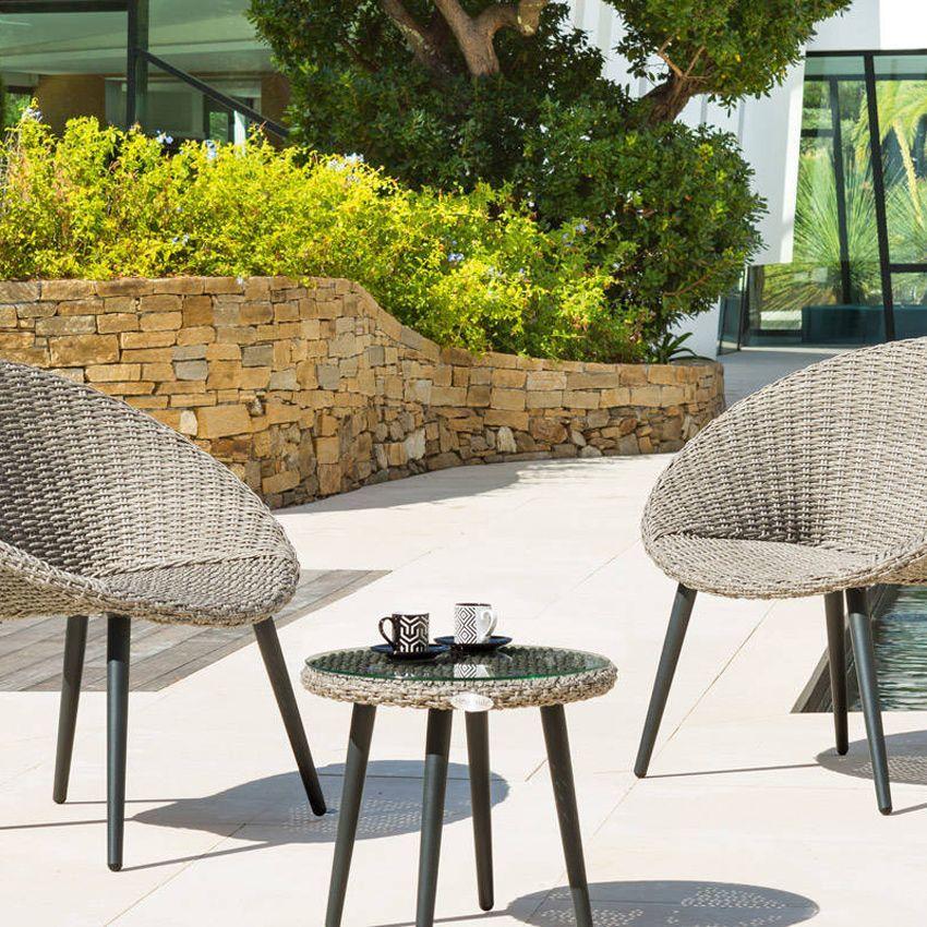 salon de jardin canberra s pia 2 places salon de jardin eminza. Black Bedroom Furniture Sets. Home Design Ideas