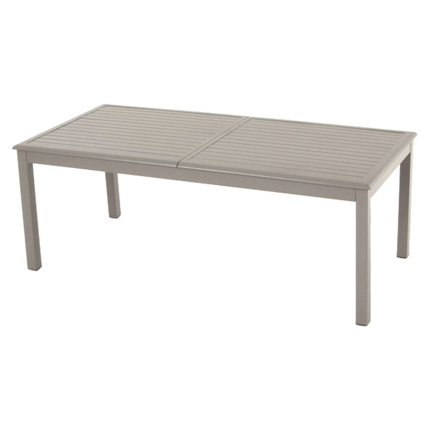 table de jardin extensible aluminium azua max 300 cm taupe table de jardin eminza. Black Bedroom Furniture Sets. Home Design Ideas