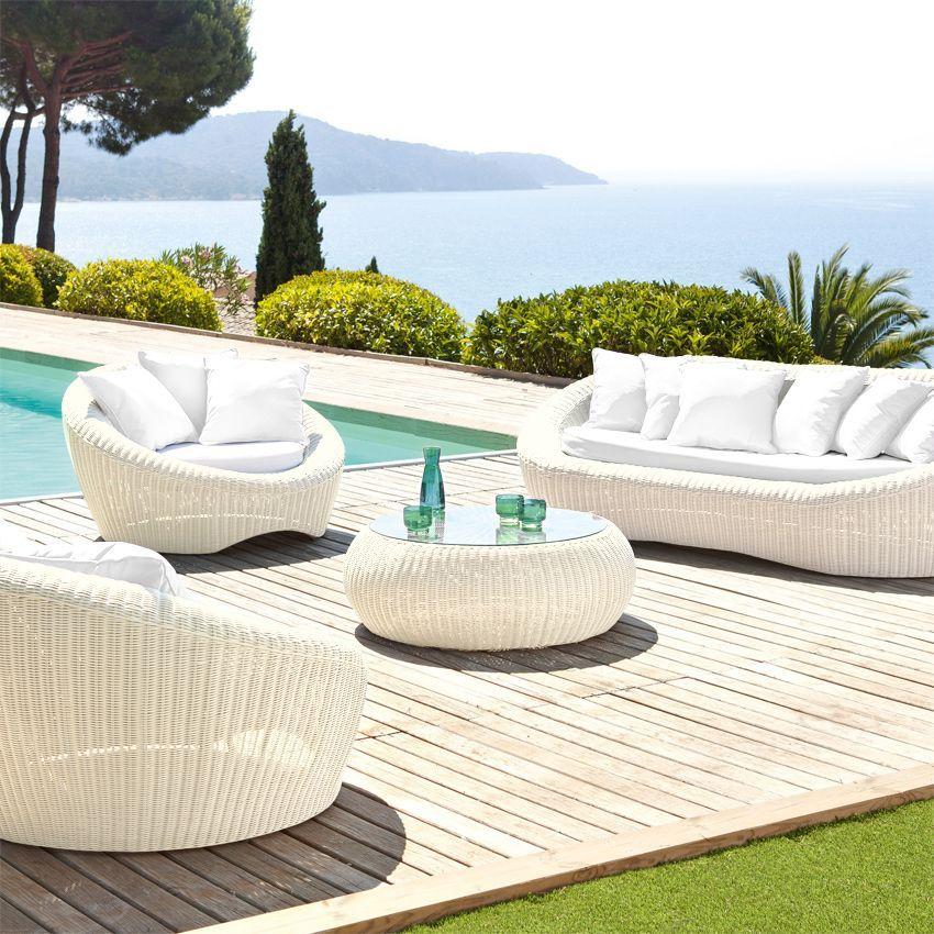 Best Salon De Jardin Wicker Blanc Ideas - Amazing House Design ...