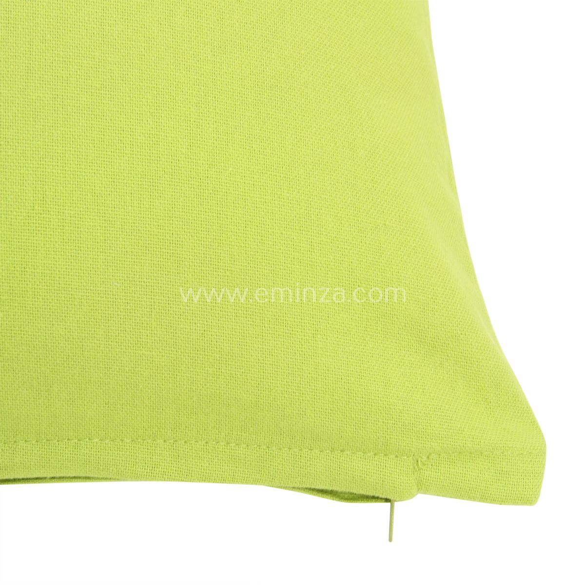 coussin 40 cm etna vert anis coussin eminza. Black Bedroom Furniture Sets. Home Design Ideas