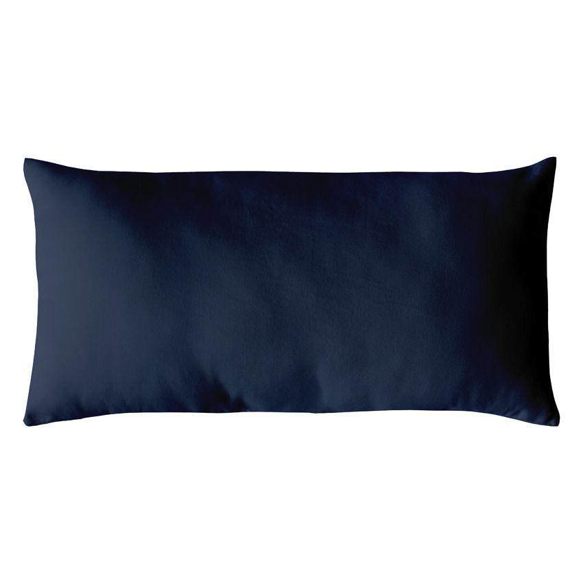coussin rectangulaire etna bleu marine coussin et housse. Black Bedroom Furniture Sets. Home Design Ideas