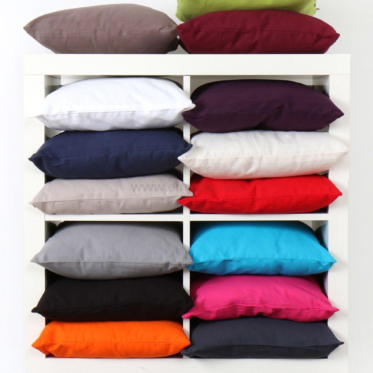 coussin 60 cm etna rouge coussin et housse de coussin eminza. Black Bedroom Furniture Sets. Home Design Ideas