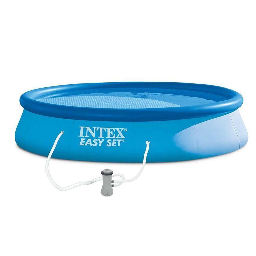 Piscine autostable easy set 3 96 x h 0 84 m intex for Accessoire piscine 84