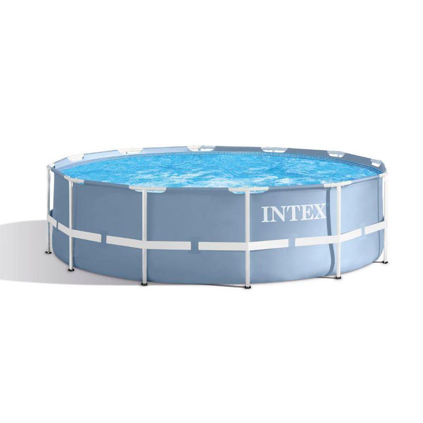Piscine tubulaire ronde prisme frame 3 66 x h 0 99 m for Accessoire piscine 66