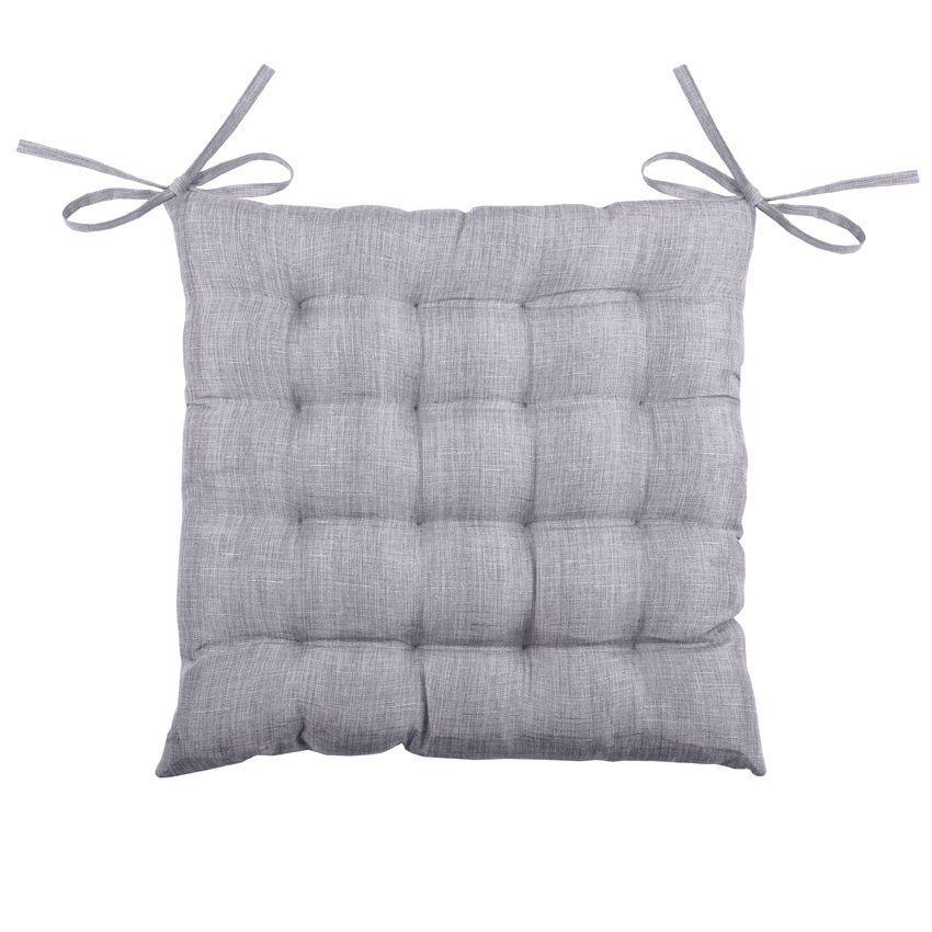 coussin de chaise b a 16 points gris galette et coussin de chaise eminza. Black Bedroom Furniture Sets. Home Design Ideas