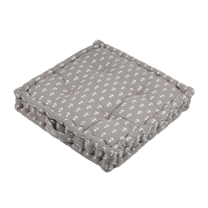 coussin de sol 45 cm embrun gris coussin de sol et. Black Bedroom Furniture Sets. Home Design Ideas
