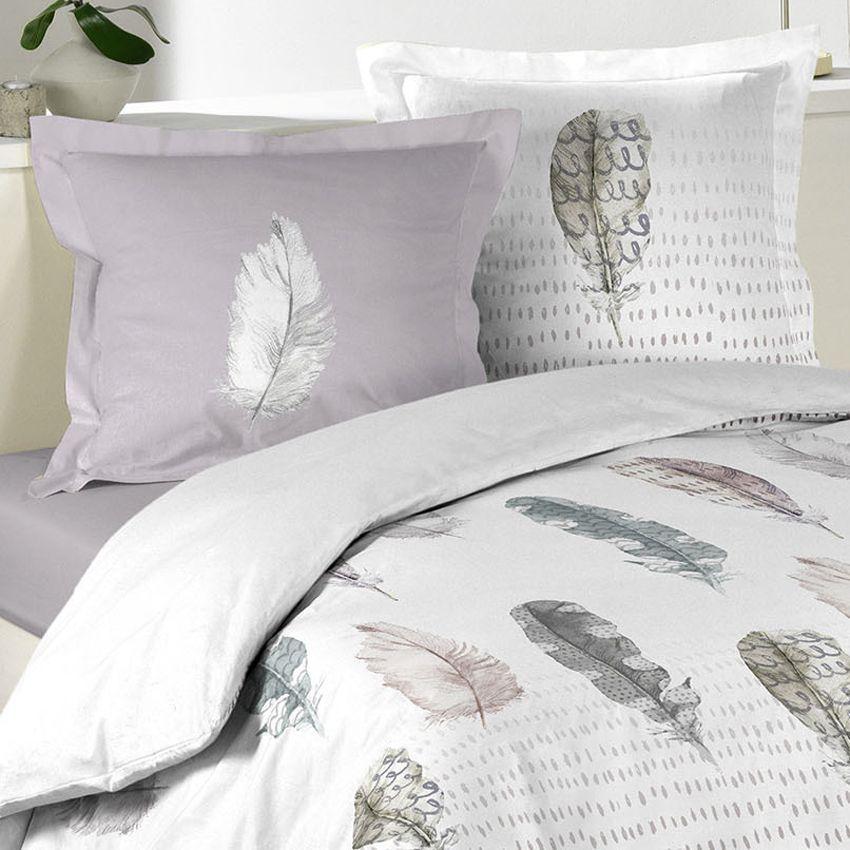 housse de couette et deux taies 260 cm light spirit. Black Bedroom Furniture Sets. Home Design Ideas
