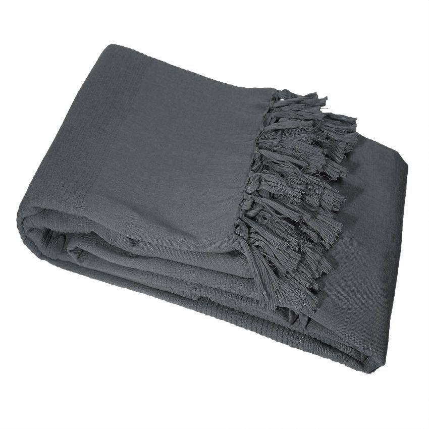 jet de canap 150 cm lana anthracite jet de canap. Black Bedroom Furniture Sets. Home Design Ideas