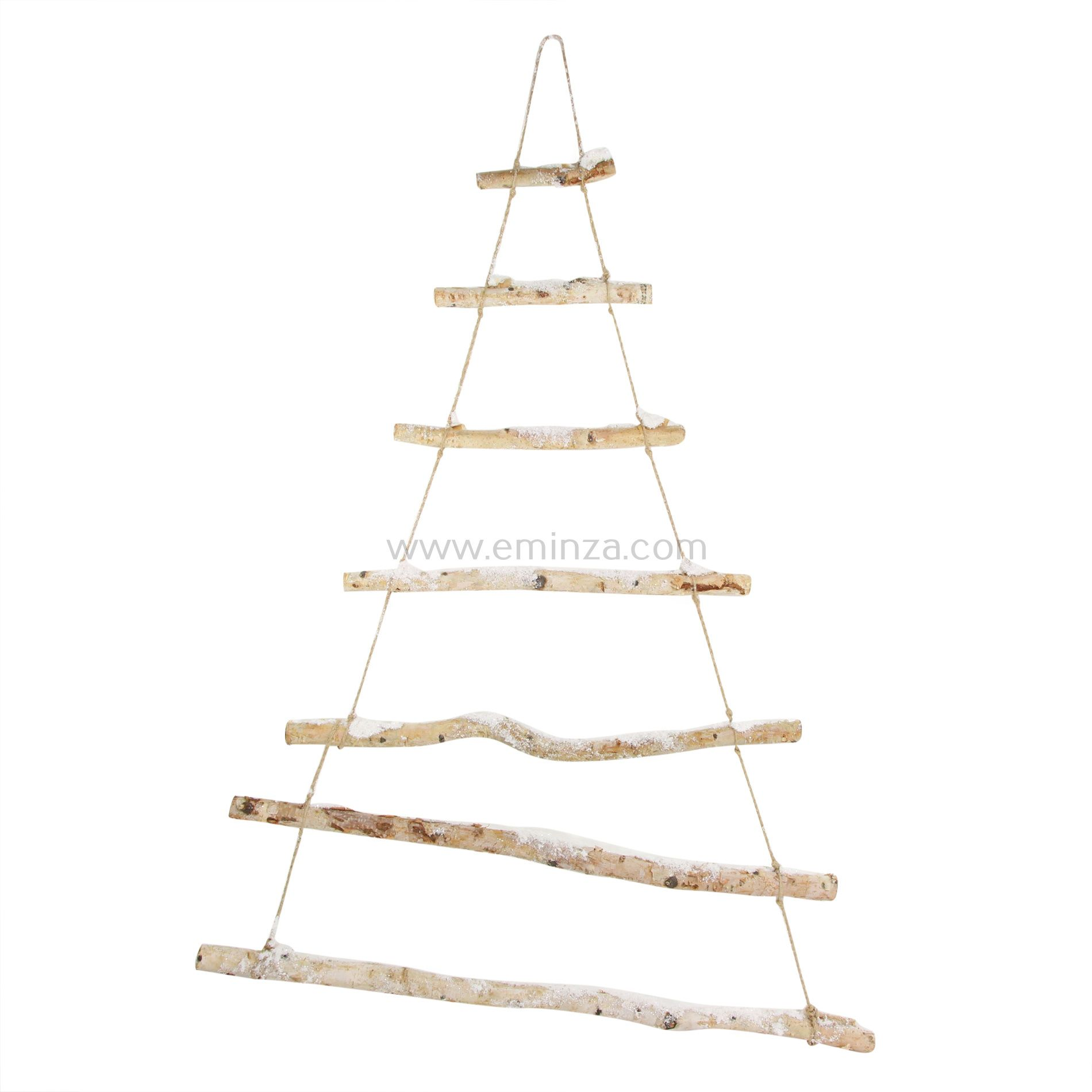Suspension naturelle d corative sapin de branches for Suspension nature