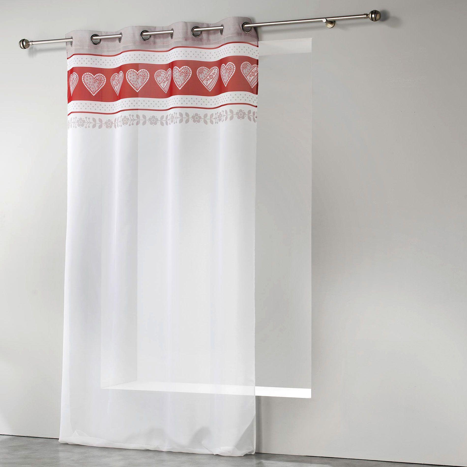 voilage de couleur rouge bourgogne. Black Bedroom Furniture Sets. Home Design Ideas