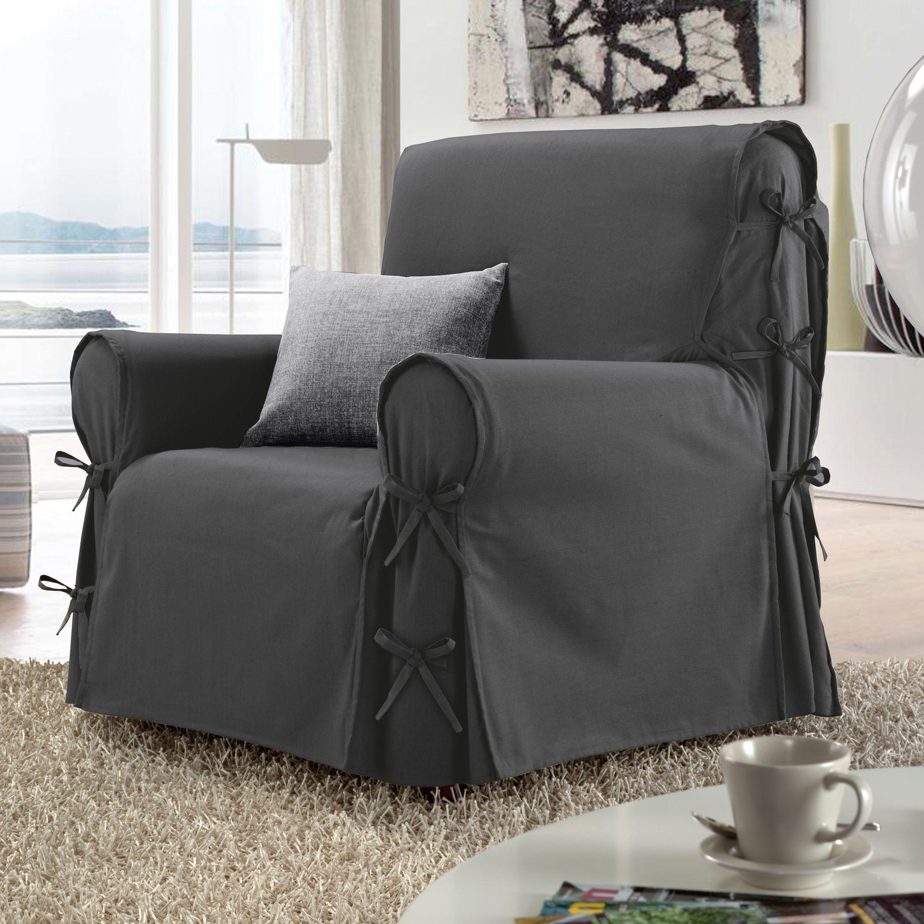 housse fauteuil stella anthracite 100 coton 57709 Résultat Supérieur 50 Luxe Housse Fauteuil Pic 2017 Zzt4