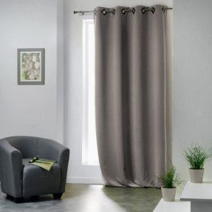 Rideau occultant (135 x H260 cm) Cocoon Taupe