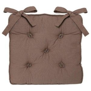 Coussin de chaise Datara 5 points Taupe