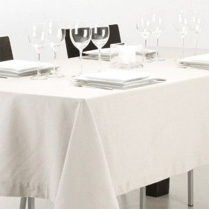 Nappe de table linge de table eminza - Nappe anti tache rectangulaire ...