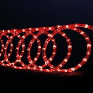 Tubo luminoso 10 m Rojo 180 LED
