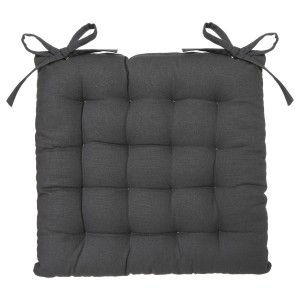 Coussin de chaise Datara Gris anthracite