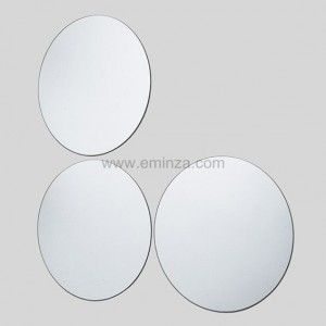 Lot de 3 Miroirs ronds