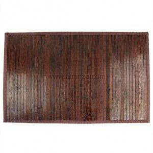 tapis de bain lattes naturelles bois bambou tapis salle de bain eminza. Black Bedroom Furniture Sets. Home Design Ideas