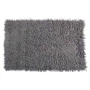 tapis de bain chenille gris tapis salle de bain eminza. Black Bedroom Furniture Sets. Home Design Ideas