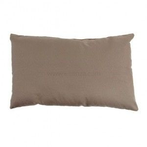 Coussin rectangulaire Nelson Taupe