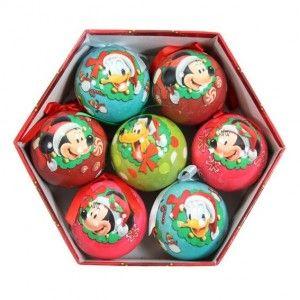 Vous aimerez aussi : Lot de 7 boules de No�l Disney Mickey Multicolore