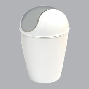 Merveilleux Mini Poubelle Happy Blanc