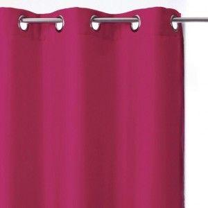 Vous aimerez aussi : Paire de rideaux occultants (135 x H240 cm) Uni Framboise