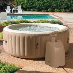 Spa Bulles 4 personnes Beige - Intex