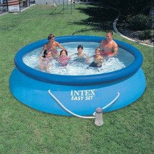 Piscine autostable Easy Set Ø 3,66 x H 0,76 m - Intex