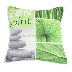 housse de coussin aztec vert d 39 eau eminza. Black Bedroom Furniture Sets. Home Design Ideas