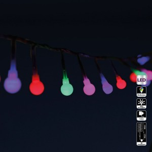 Luces de Navidad Cereza  6 m Multicolor 120 LED